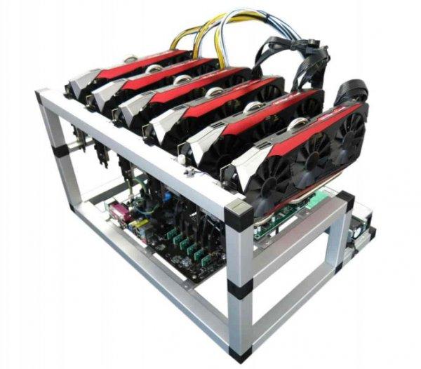 Mining Rig speziell für zcash und ethereum geeignet